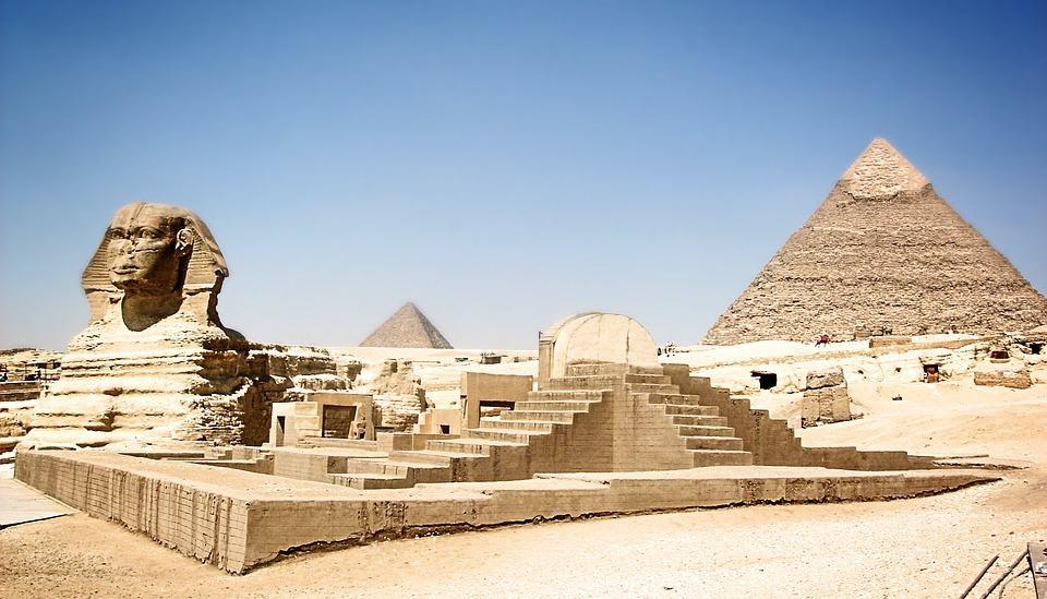 The Great Pyramids at Giza