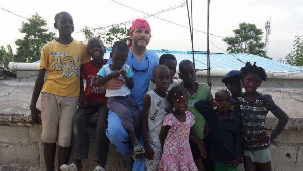 Dr Fussell Children Haiti Dental
